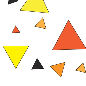 Orange triangle chaos
