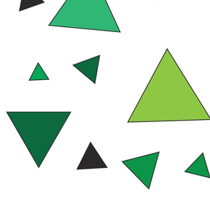 Green triangle chaos