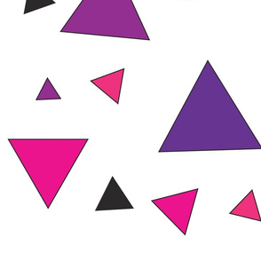 Pink triangle chaos