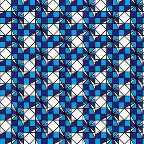 Blue Checkers