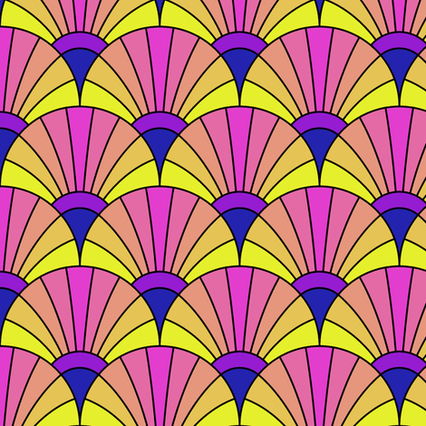 04753866 : fan scale : the fans of bob fabric by sef on Spoonflower - custom fabric