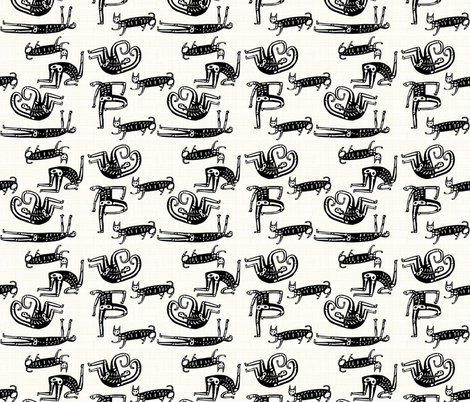 skelly fabric by kimmurton on Spoonflower - custom fabric