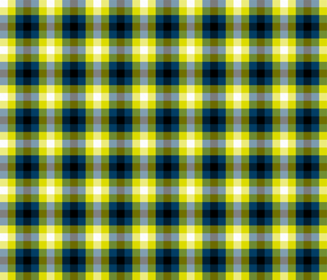 Firefly Check fabric by verystarry on Spoonflower - custom fabric