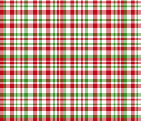 Holiday Plaid fabric by argenti on Spoonflower - custom fabric