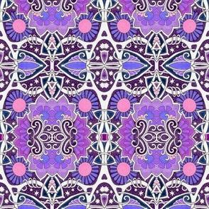 Purple Floral Fandango
