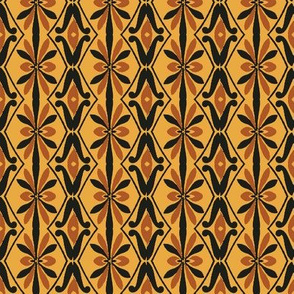 Vintage Design Vertical Pattern