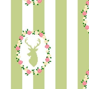 Spring Stag Wreath