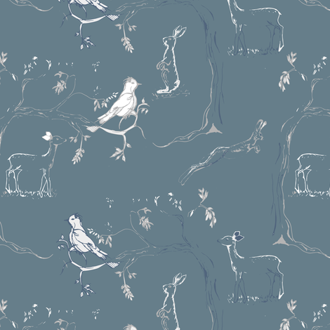 Take a walk in the great outdoors fabric by gemmacosgroveball on Spoonflower - custom fabric