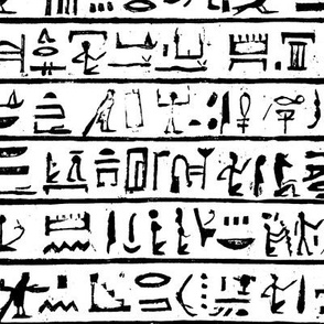 Hieroglyphics // Small