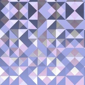 Triangles Deepening Night