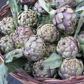 Italian market artichokes