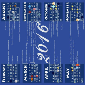 2016 Astronomical Events Calendar