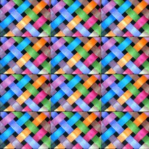 Coloured weave Jennifer Grantham
