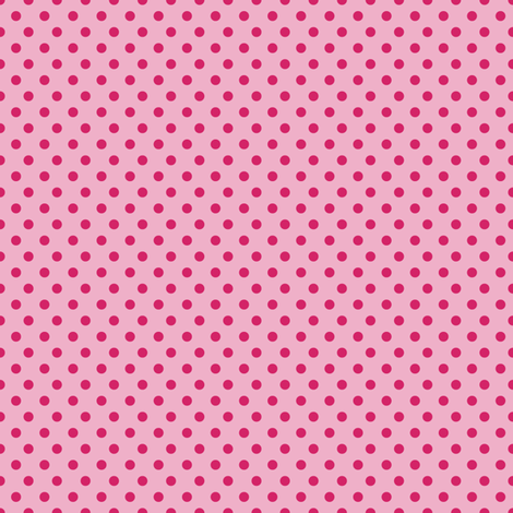 Portraits_pinks_1_spots-01 fabric by seesawboomerang on Spoonflower - custom fabric