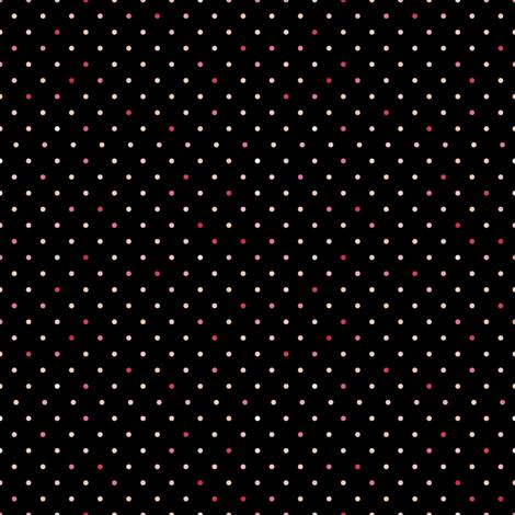 Portraits_pinks_4_multi_dots-01 fabric by seesawboomerang on Spoonflower - custom fabric