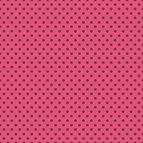 Lovely Pink Spots fabric by seesawboomerang on Spoonflower - custom fabric