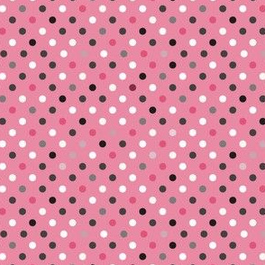 Lovely Pink Multi Spots