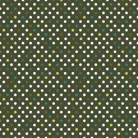 Toxic Multi Spots fabric by seesawboomerang on Spoonflower - custom fabric
