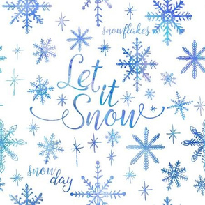 Let It Snow Winter Pattern