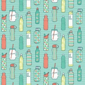 Trendy Water Bottles Tiny Size