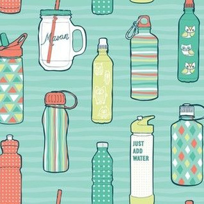 Water Bottles - Large Print