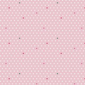 Pale pink stars