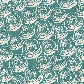 Rose Garden - Blue-green