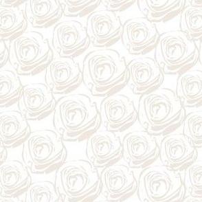 Rose Garden - White