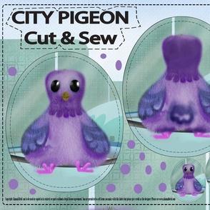City Pigeon Cut & Sew