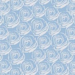 Rose Garden - Full Periwinkle