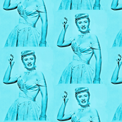 Stanwyck in Blue