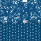 Cut & Sew Snowflakes Gift Bag