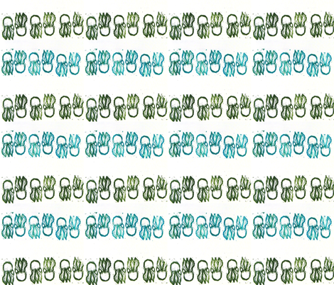 Madeline_Island_Coneflowers fabric by suzanne_myers_otto on Spoonflower - custom fabric