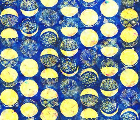 Lace Moon fabric by katebillingsley on Spoonflower - custom fabric