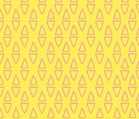 cones fabric by paperondesign on Spoonflower - custom fabric
