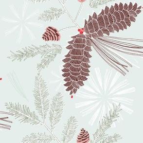 minty pine needles