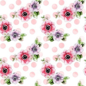 Anemones - pink