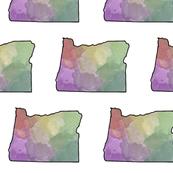 Watercolor Oregon