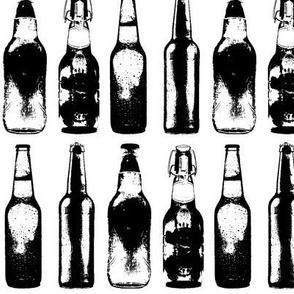 """Vintage Beer Bottles - Large (4"""")"""