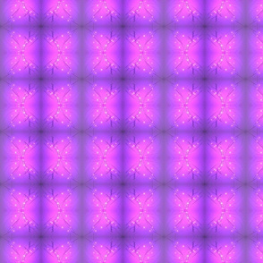 Purple_led light glow