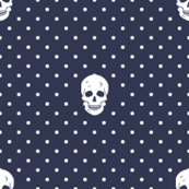 Moriarty Skull Polka Dots