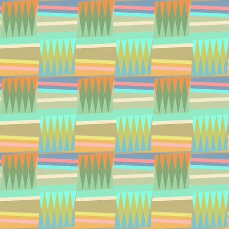 Geometric Nursery  fabric by joanmclemore on Spoonflower - custom fabric