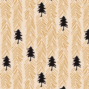 Chevron trees