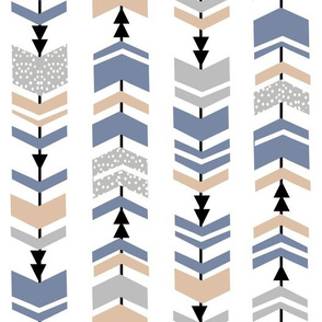chevron arrows trendy minimal scandi modern kids