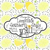 Lemonade recipe hat Linen -  yall-sugar spice