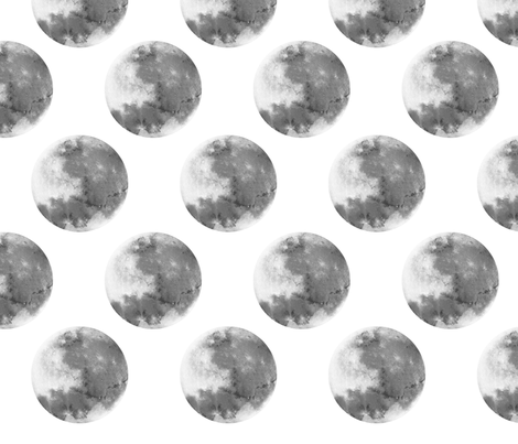 Moon pattern fabric velociracer spoonflower for Moon pattern fabric