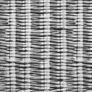 Shibori Stripes Charcoal Grey