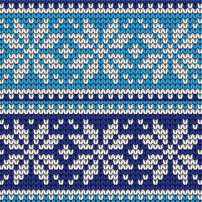 Christmas Holiday Ugly Sweater Snowflakes