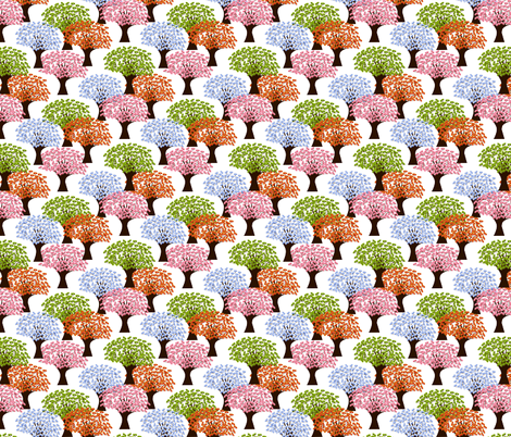 4_seasons_tree fabric by anino on Spoonflower - custom fabric