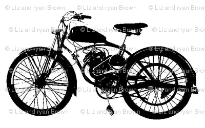 Vintage Motorbikes // Medium